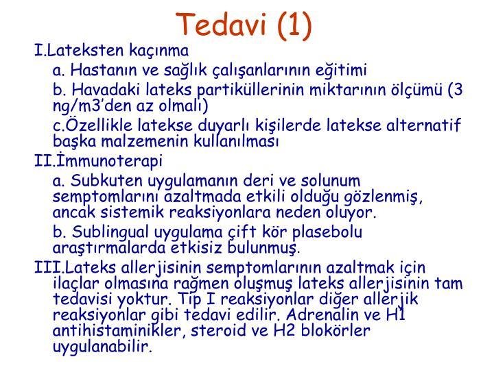 Tedavi (1)