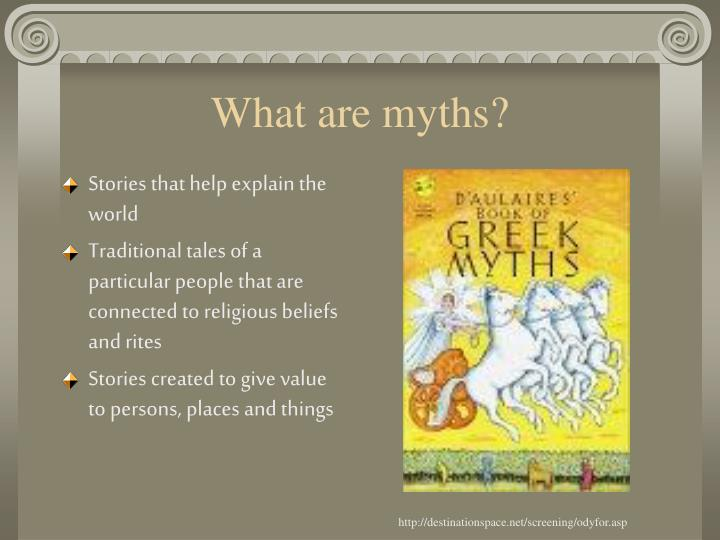 What are myths