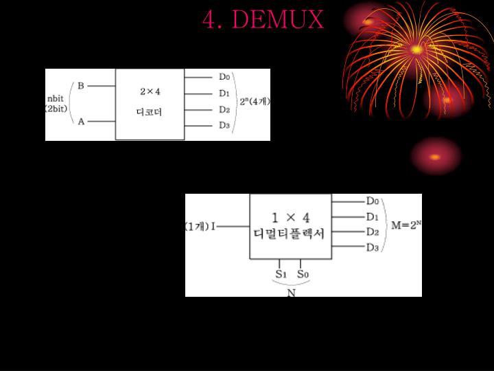 4. DEMUX