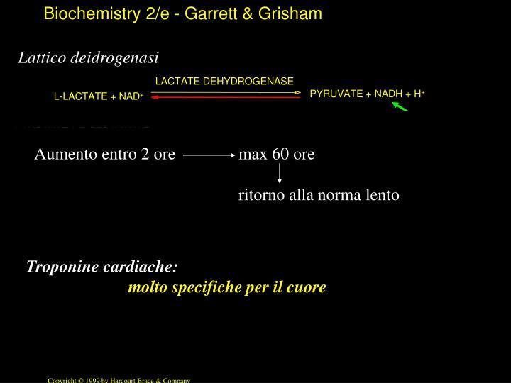 Lattico deidrogenasi