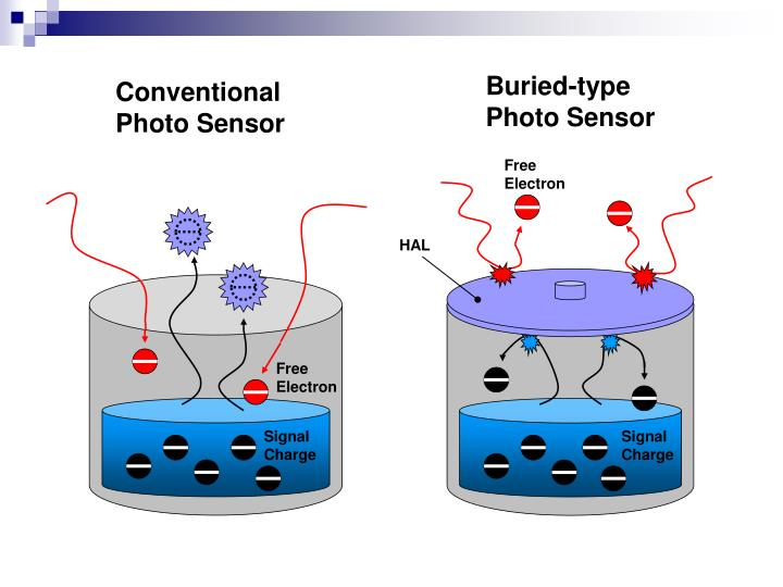 Buried-type Photo Sensor