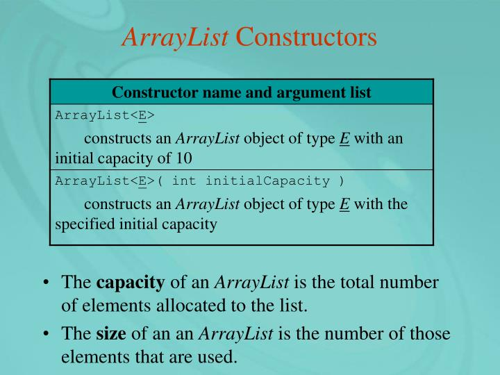 ArrayList