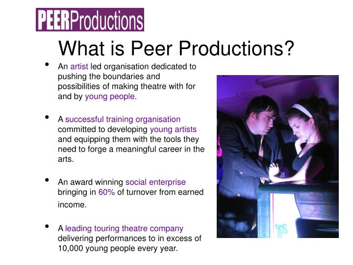What is peer productions