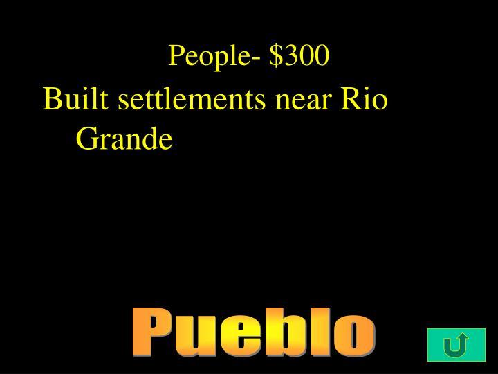 People- $300