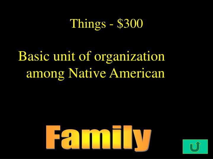 Things - $300