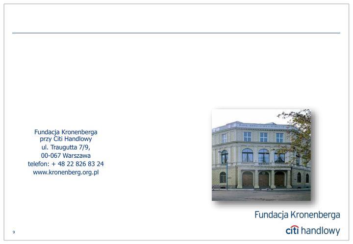 Fundacja Kronenberga