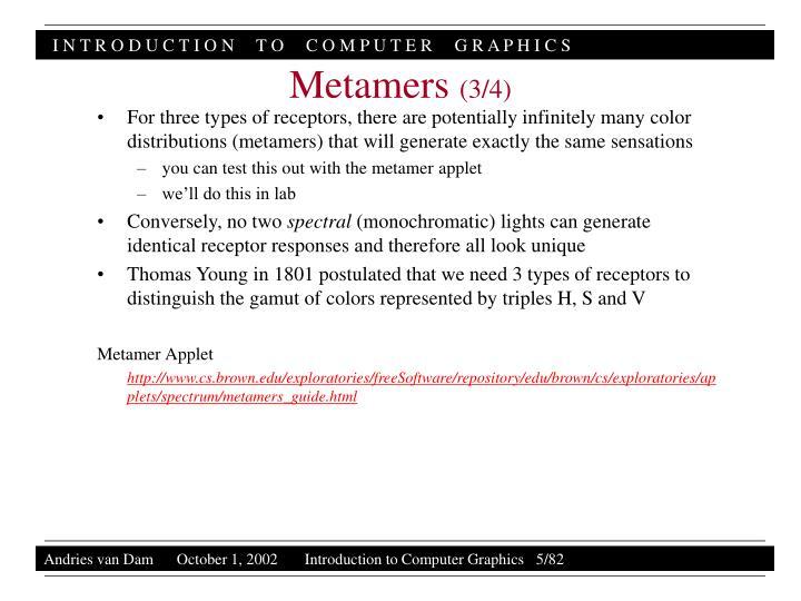 Metamers