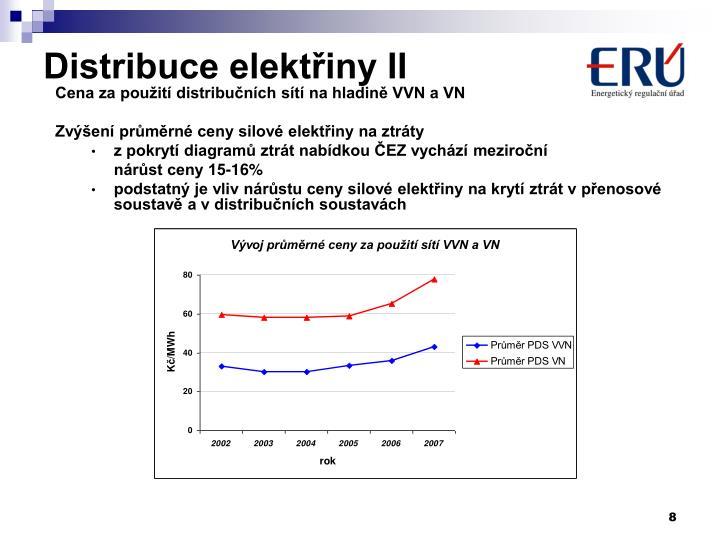 Distribuce elektřiny II