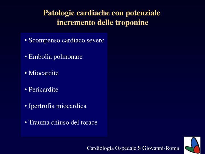 Patologie cardiache con potenziale