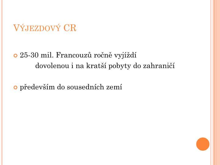 Výjezdový CR