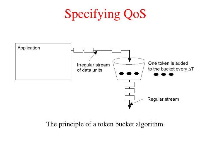 Specifying QoS