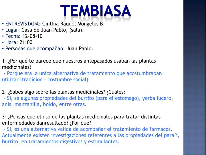 TEMBIASA