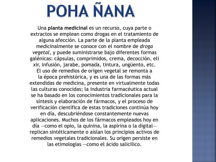 POHA ÑANA