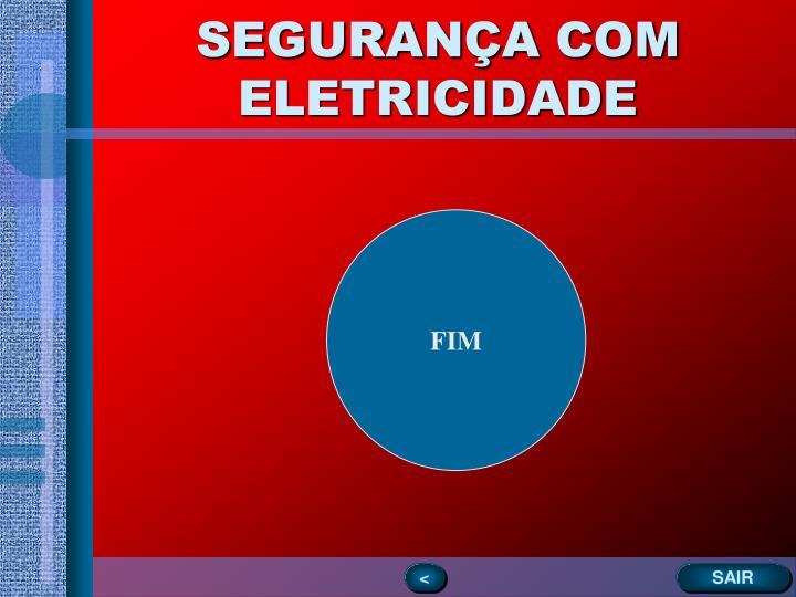 SEGURANÇA COM ELETRICIDADE