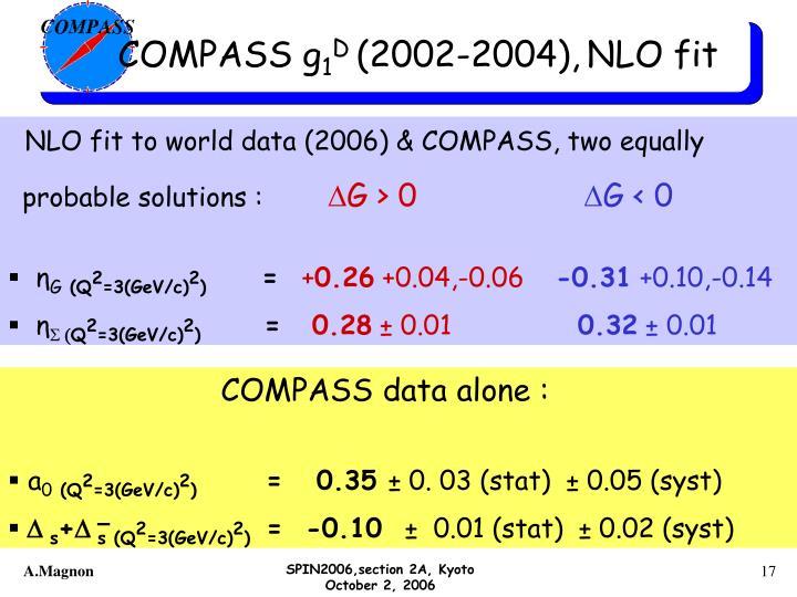 COMPASS g
