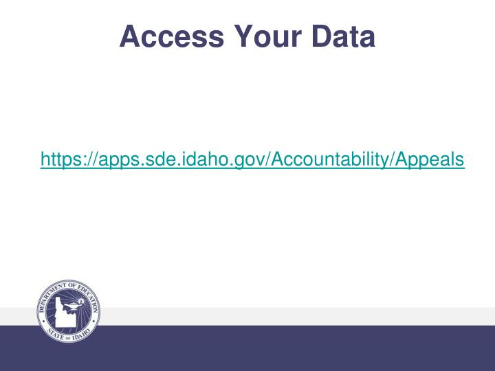 Access Your Data