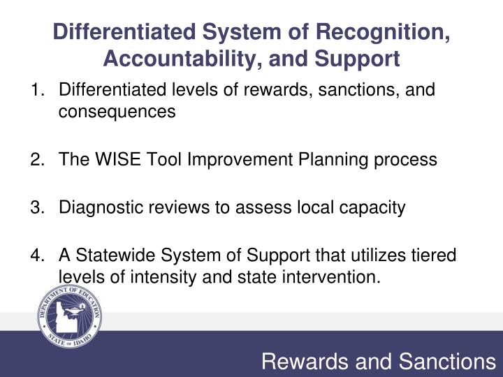 Differentiated System of Recognition, Accountability, and Support