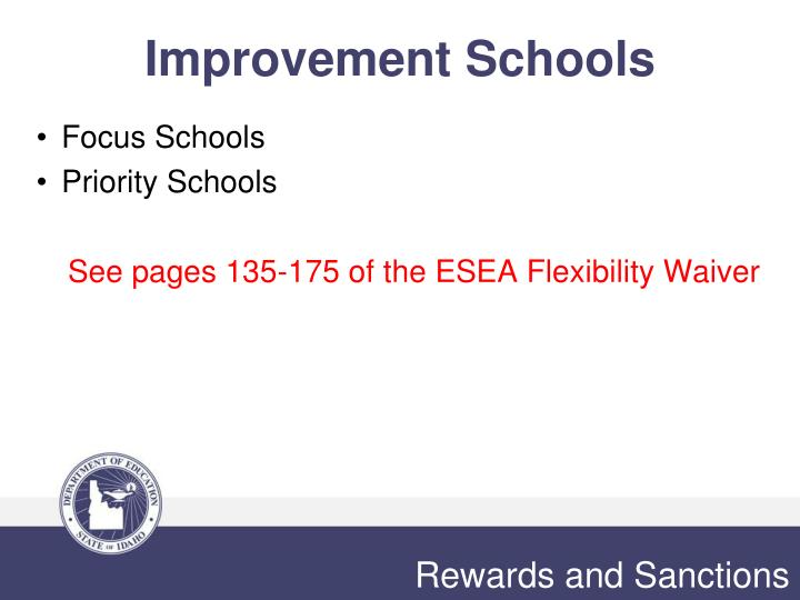 Improvement Schools