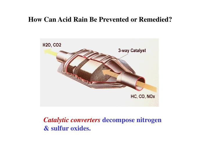 How Can Acid Rain Be Prevented or Remedied?