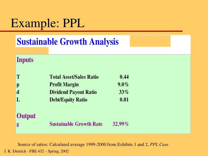 Example: PPL