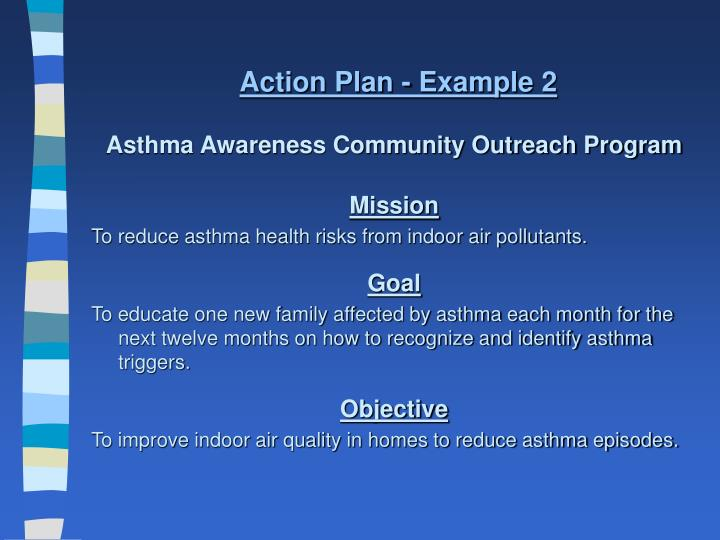 Action Plan - Example 2