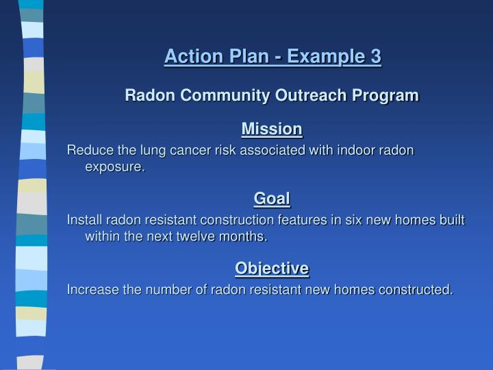 Action Plan - Example 3