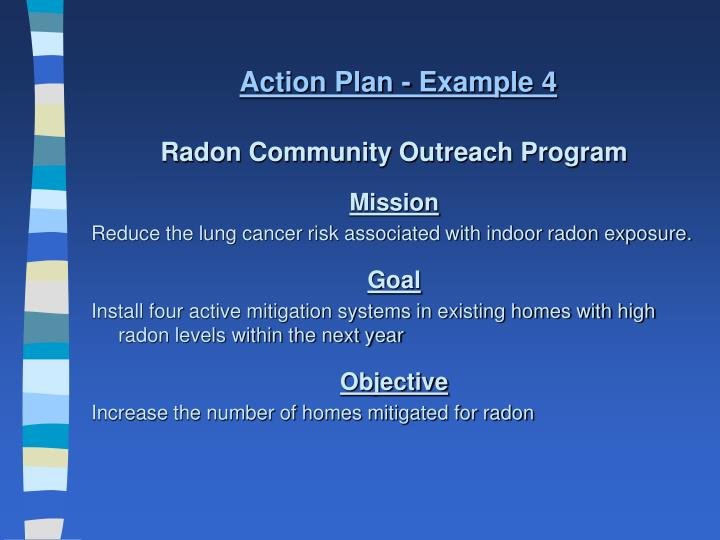 Action Plan - Example 4