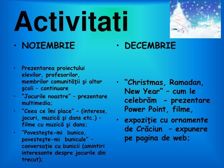 Activitati