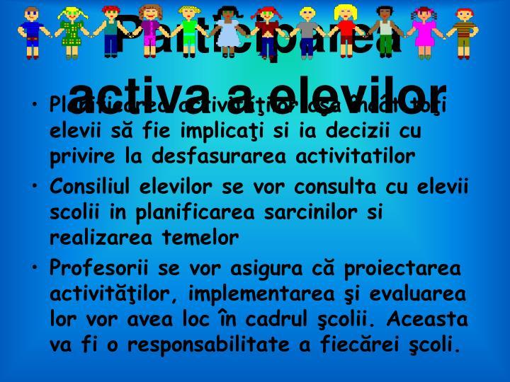 Participarea activ