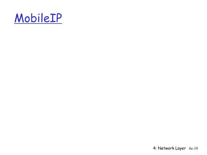 MobileIP