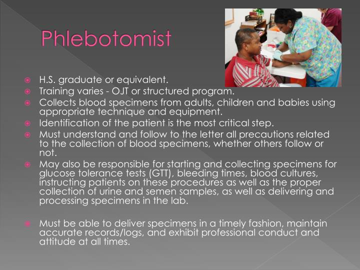 history of phlebotomy This article will be all about phlebotomy and everything you need to know about phlebotomy.