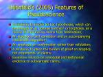 lilienfeld s 2005 features of pseudoscience