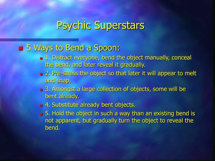 Psychic Superstars