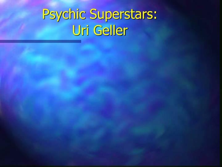 Psychic Superstars: