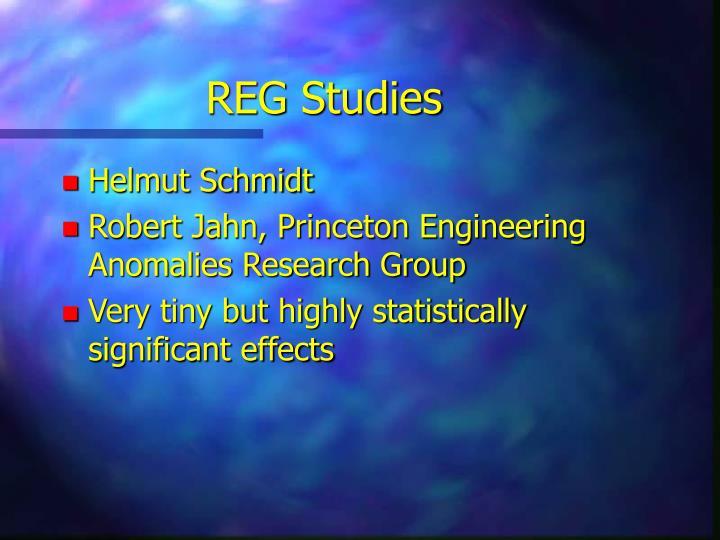 REG Studies