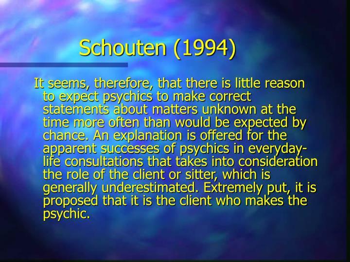 Schouten (1994)