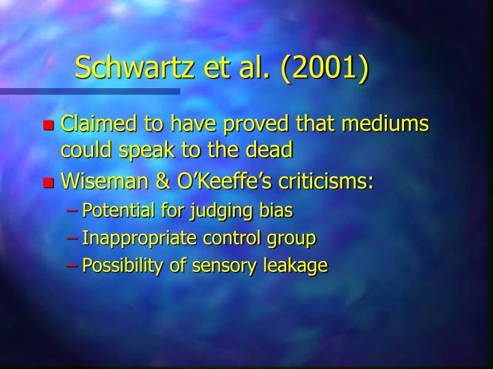 Schwartz et al. (2001)