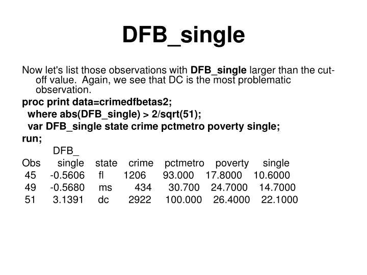 DFB_single