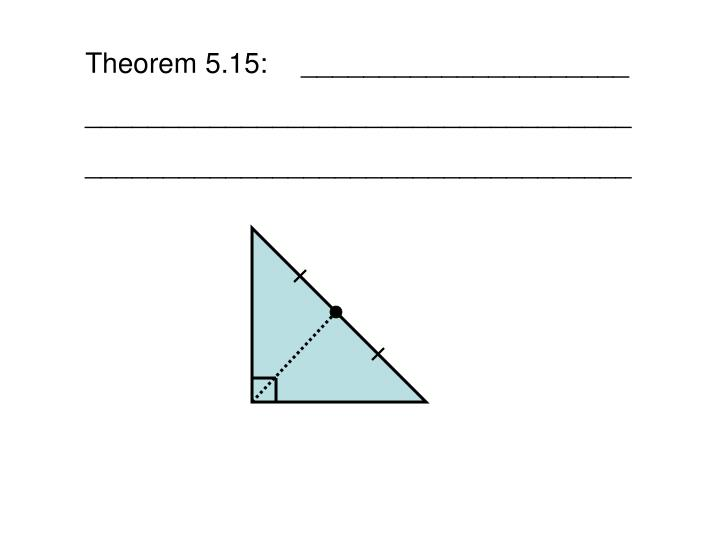 Theorem 5.15:_____________________