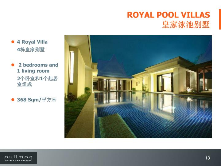 ROYAL POOL VILLAS