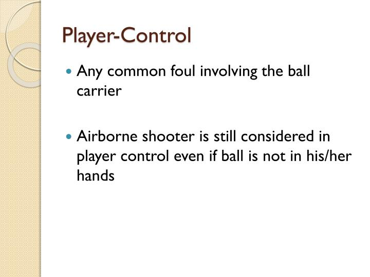 Player-Control