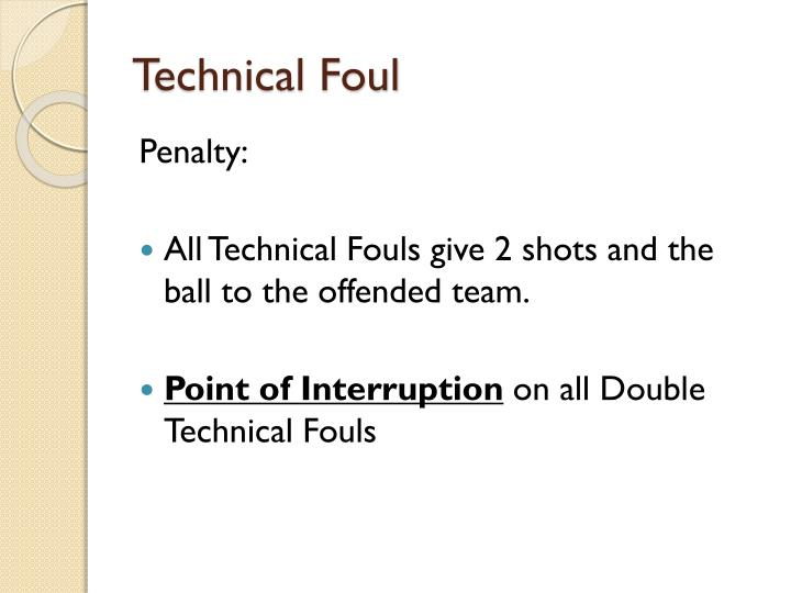 Technical Foul