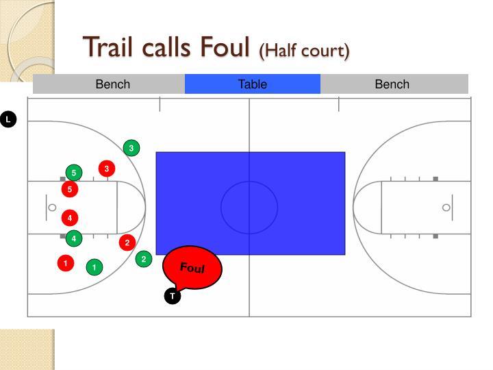 Trail calls Foul