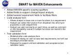 smart for maven enhancements