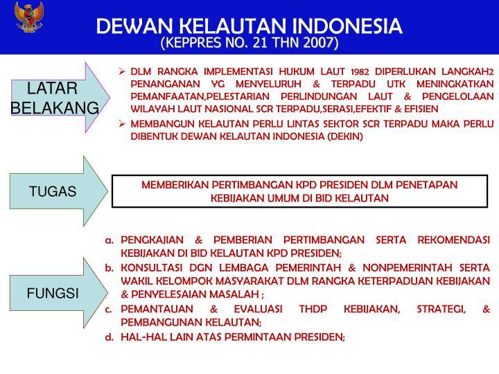 DEWAN KELAUTAN INDONESIA