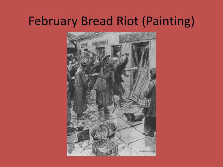 February Bread Riot (Painting)