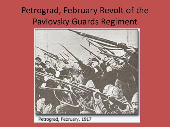 Petrograd, February Revolt of the