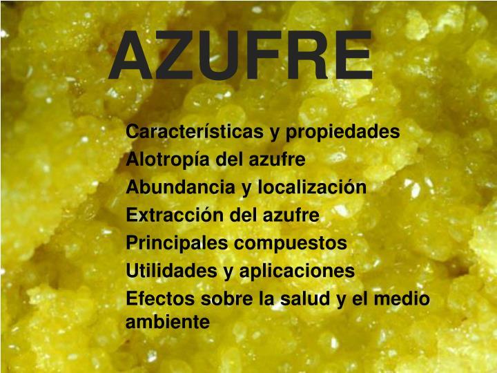 AZUFRE
