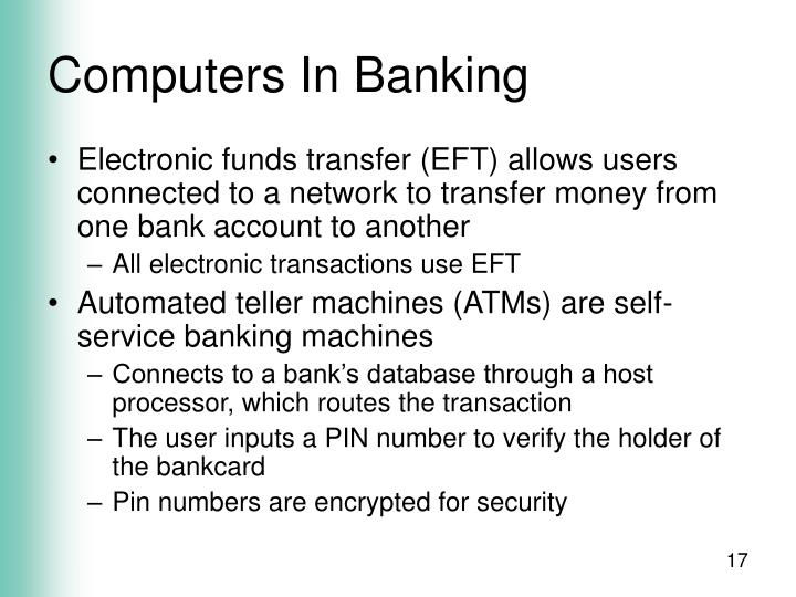 Computers In Banking