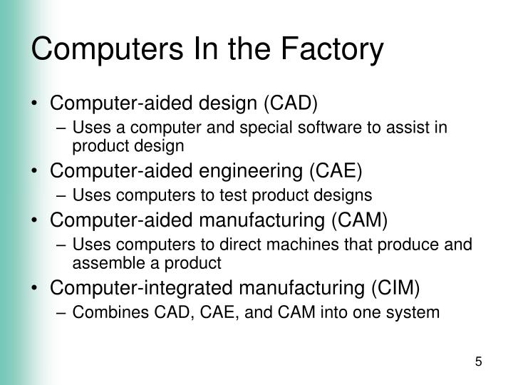 Computers In the Factory